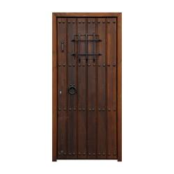 Puerta Cartuja con duelas y clavos