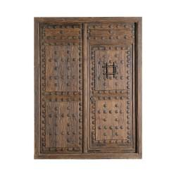 Puerta Castellana de 2 hojas con puerta interior