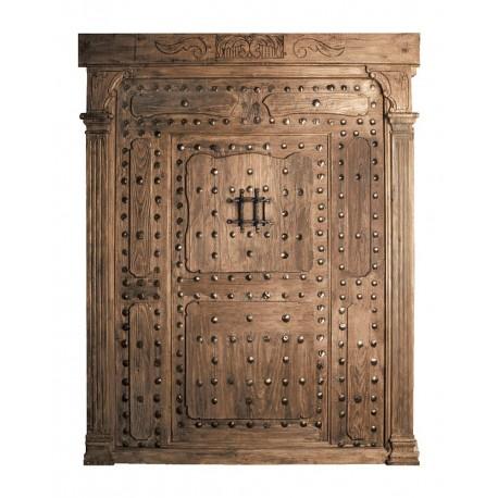 Puerta Castellana con embocadura y puerta interior