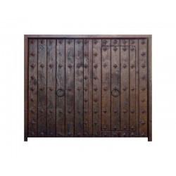 Puerta modelo Melgares 2 hojas