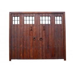 Puerta modelo Moraleda con 2 fijos