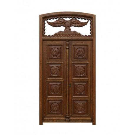 Puerta de madera de estilo señorial de dos hojas Sevilla