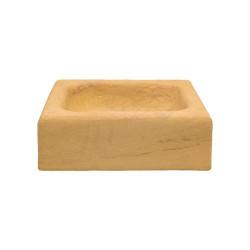 Fregadero piedra amarilla