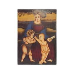 Cuadro virgen con niños
