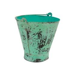Cubo vintage verde