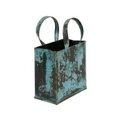 Bolsa de chapa color azul