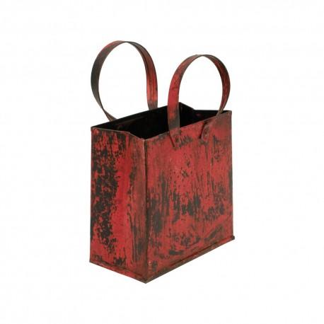 Bolsa de chapa roja