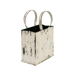 Bolsa de chapa blanca