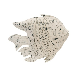 Candelabro pez blanco