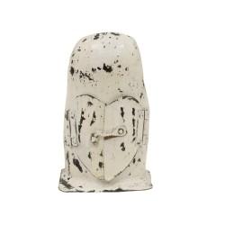 Candelabro búho mini blanco