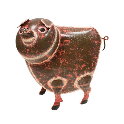 Cerdo gigante de chapa