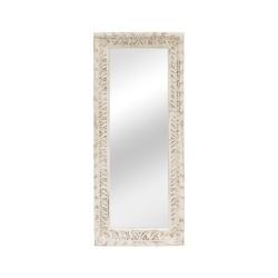 Espejo marco de madera con talla