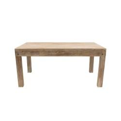 Mesa de comedor con talla