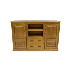 Aparador de madera de nogal de estilo clásico