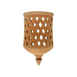 Aplique cerámica campana