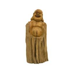 Figura buda madera