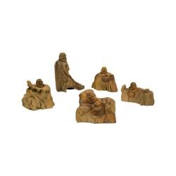 Figura buda de madera