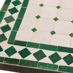 Mesa mosaico cuadrada
