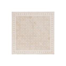 Mesa cuadrada de mosaico