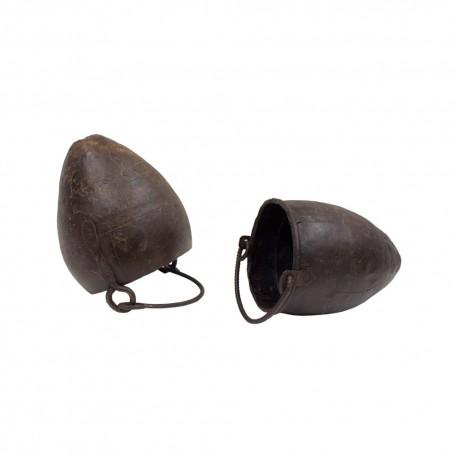 Cubo de chapa ovalado