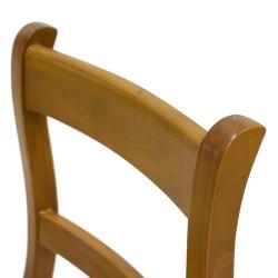 Silla escalera de madera