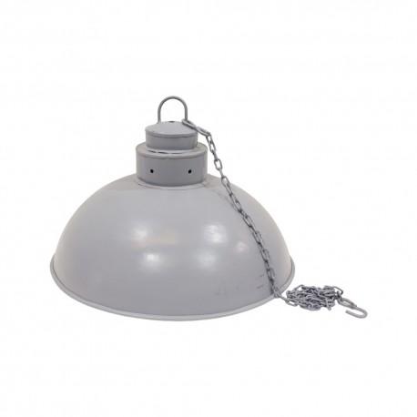 Lámpara de techo gris