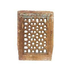 Celosía de piedra rectangular