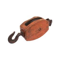Polea de barco antigua