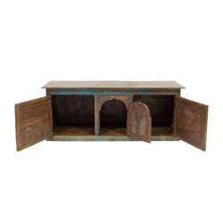 Mueble de televisión antiguo