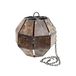 Lámpara de techo hexagonal