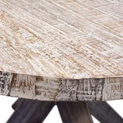 Mesa de comedor madera redonda