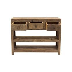 Aparador de madera rústico
