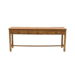 Consola de madera antigua