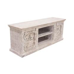 Mueble de tv madera