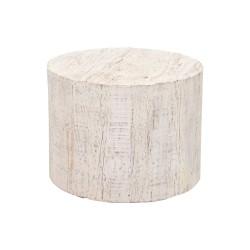 Mesa auxiliar madera con ruedas
