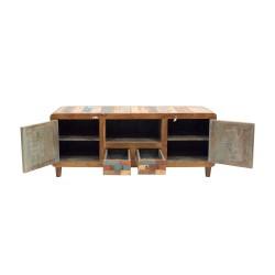 Mueble de tv de madera