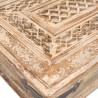 Mesa de centro madera beige