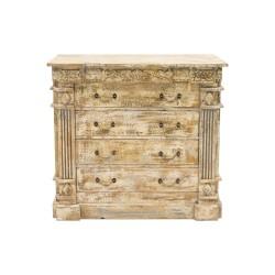 Cómoda de madera vintage