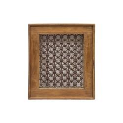 Celosía marco de madera