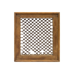 Celosía marco madera