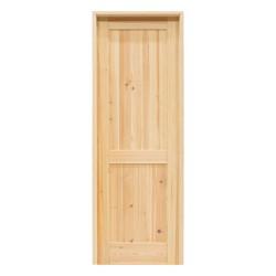 Puerta de madera modelo Robles