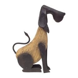 Figura perro sentado pequeño
