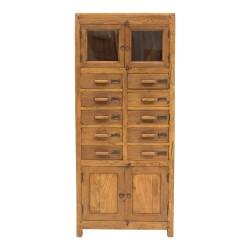 Alacena antigua de madera