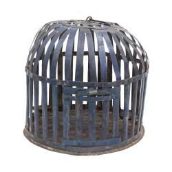 Farol jaula azul