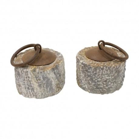 Tope de piedra pequeño