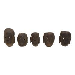 Máscara de madera étnica