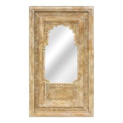 Espejo portada ermita de madera