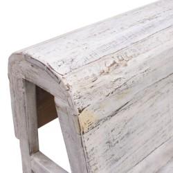 Mueble gabanero acabado blanco