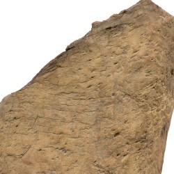 Pieza antigua de teca