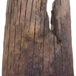 Pieza de teca antigua